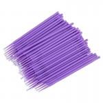 Микробраши для ресниц и бровей в пакете (100 шт)