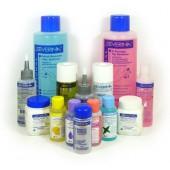 Жидкости и вспомогательные средства для ногтевого сервиса