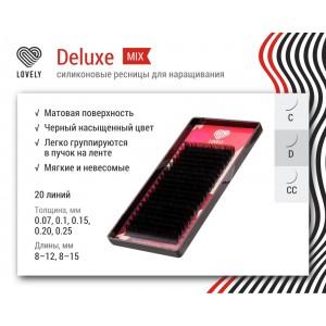 Ресницы Lovely DeLuxe (микс) 20 линий