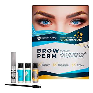 Набор долговременной укладки бровей SEXY BROW PERM